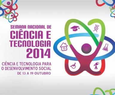 Semana Nacional de Ciência e Tecnologia acontece no mês de outubro