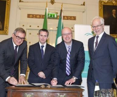 CONFAP assina acordo com agência de fomento irlandesa