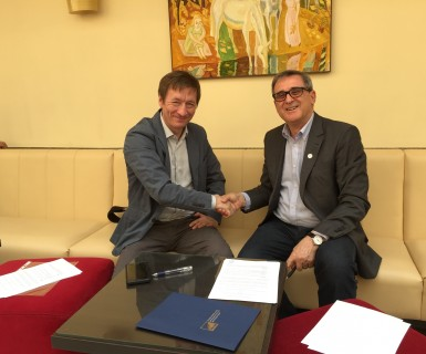 CONFAP firma acordo com Fundação Russa de Pesquisa Básica
