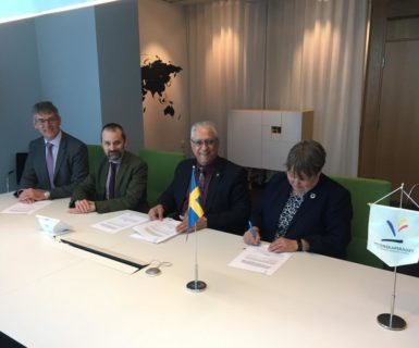 Suécia e Brasil firmam acordo para cooperação em CT&I