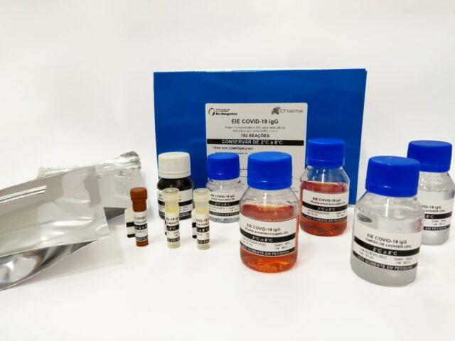 Novoteste sorológicopara diagnosticar a presença de anticorpos contra a covid-19